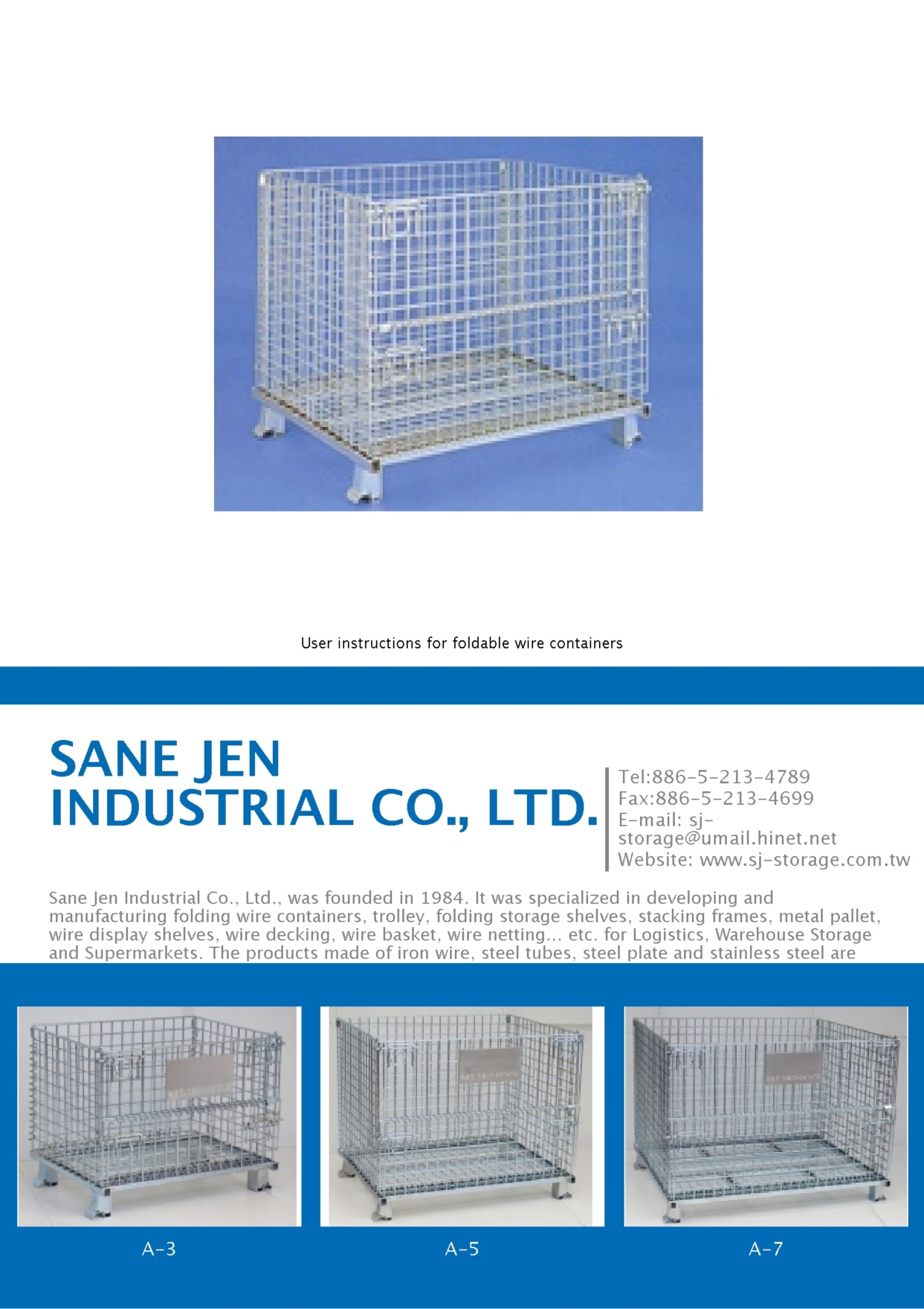 Electronics & Computers E-Magazine SANE JEN INDUSTRIAL CO., LTD.