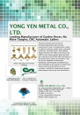 Cens.com TIS E-Magazine AD YONG YEN METAL CO., LTD.