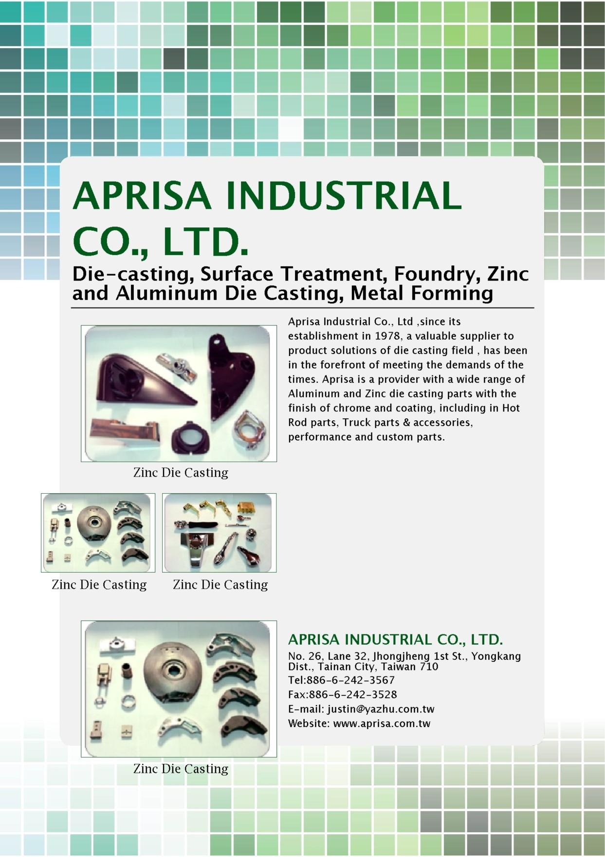 APRISA INDUSTRIAL CO., LTD.