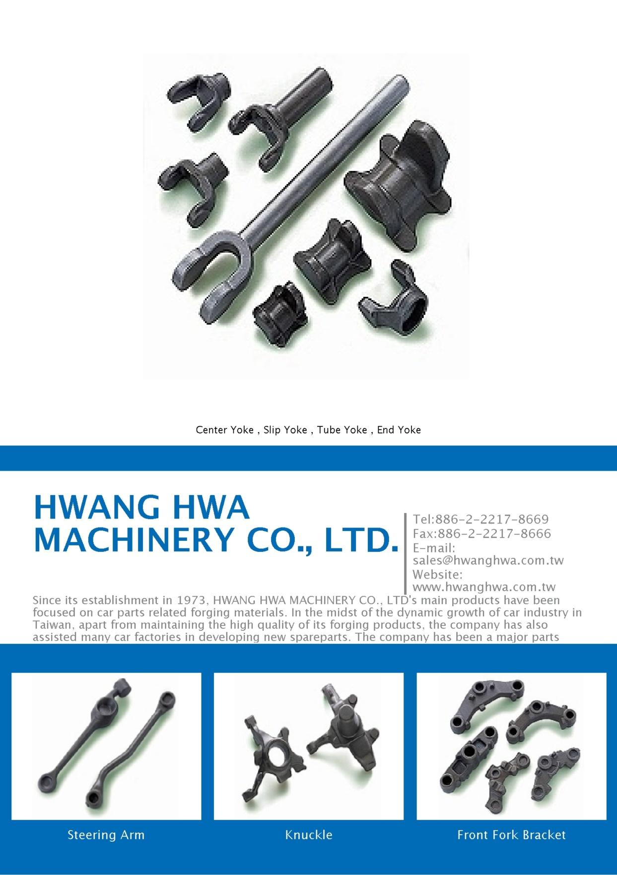HWANG HWA MACHINERY CO., LTD.
