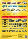 Cens.com Taiwan Transportation Equipment Guide AD APEX AUTO PARTS INC.