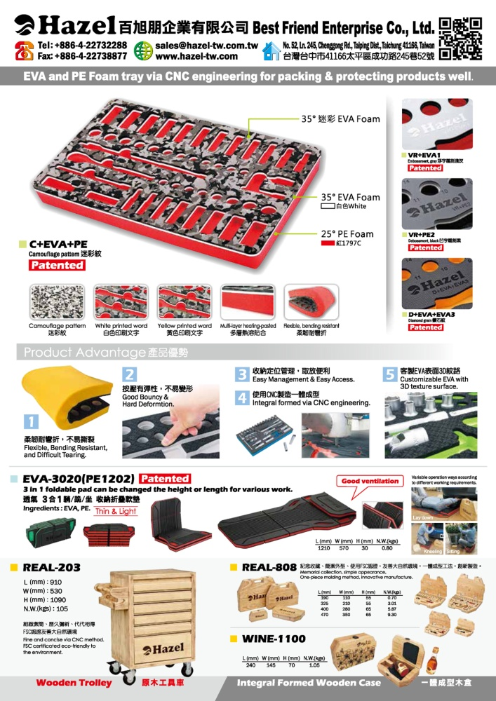 Taiwan Transportation Equipment Guide BEST FRIEND ENTERPRISE CO., LTD.
