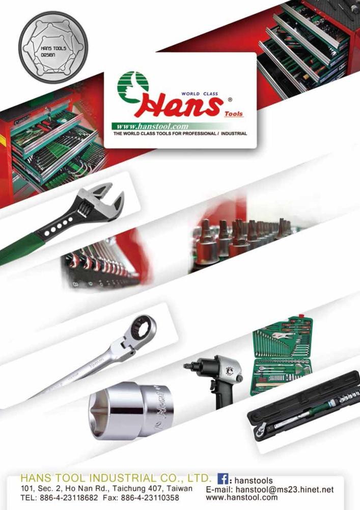 Taiwan Transportation Equipment Guide HANS TOOL INDUSTRIAL CO., LTD.