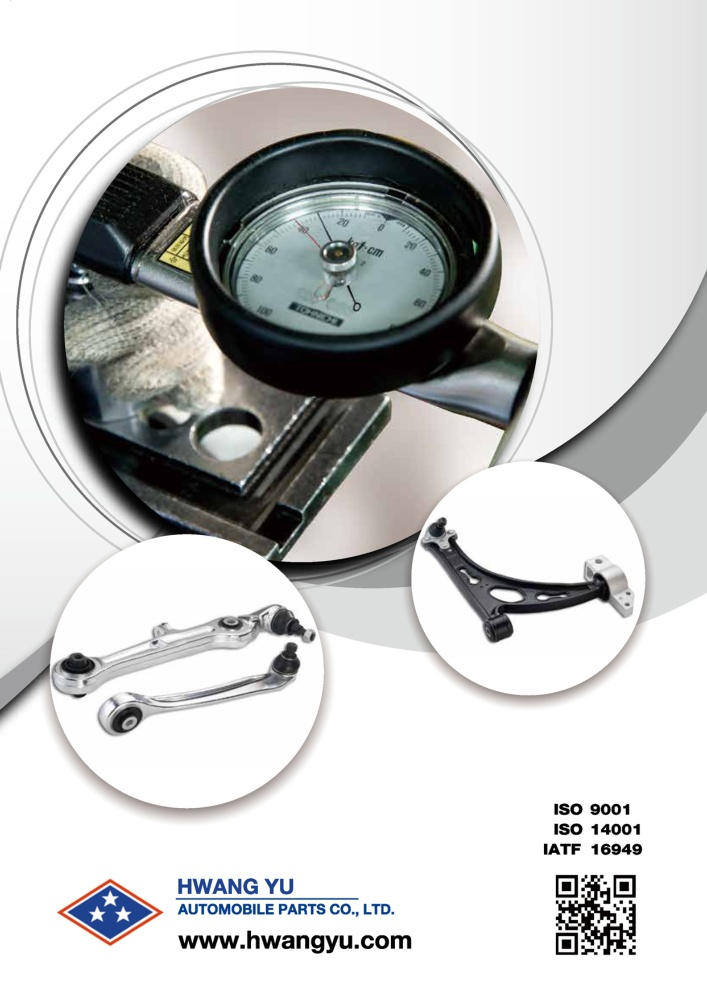 Taiwan Transportation Equipment Guide HWANG YU AUTOMOBILE PARTS CO., LTD.