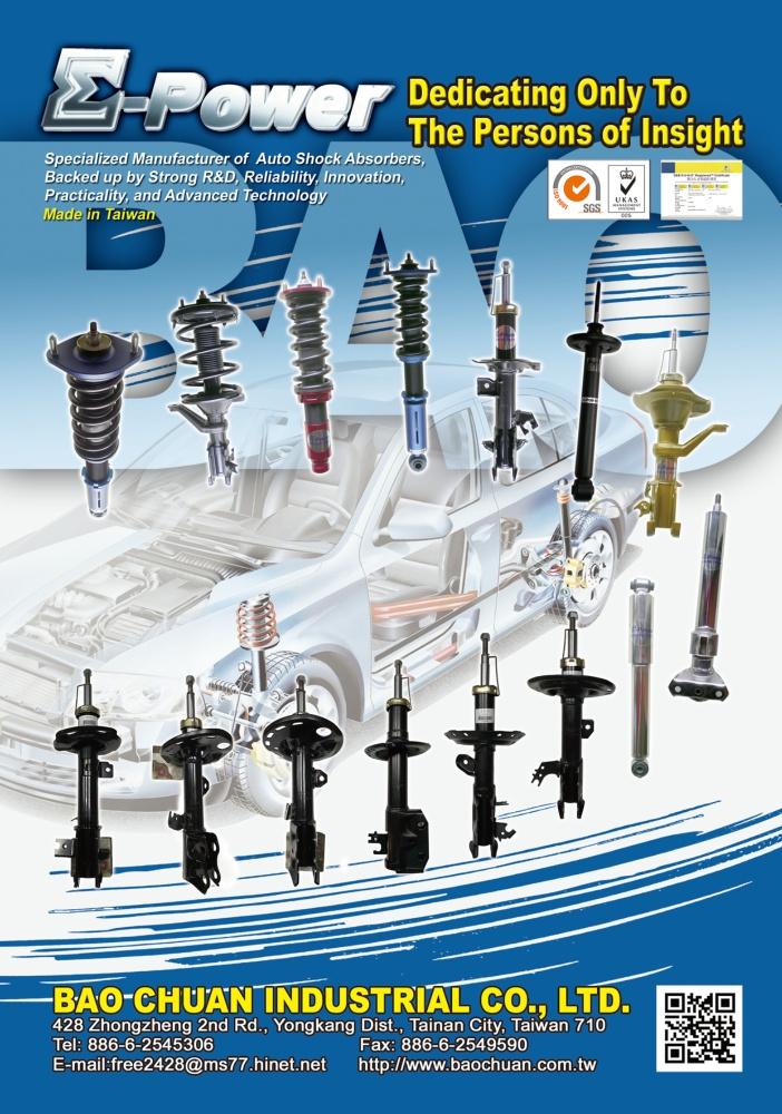 TTG-Taiwan Transportation Equipment Guide BAO CHUAN INDUSTRIAL CO., LTD.