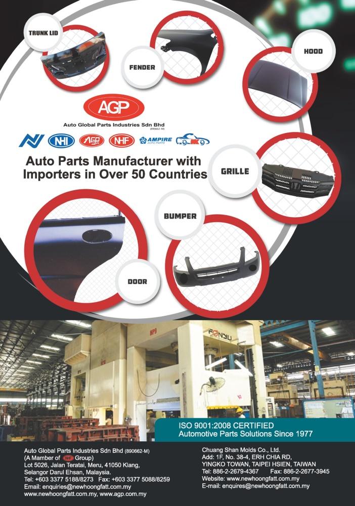 TTG-Taiwan Transportation Equipment Guide CHUANG SHAN MOLDS CO., LTD.