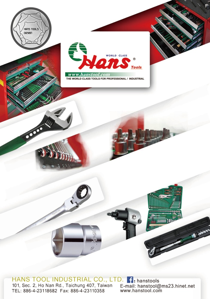 TTG-Taiwan Transportation Equipment Guide HANS TOOL INDUSTRIAL CO., LTD.