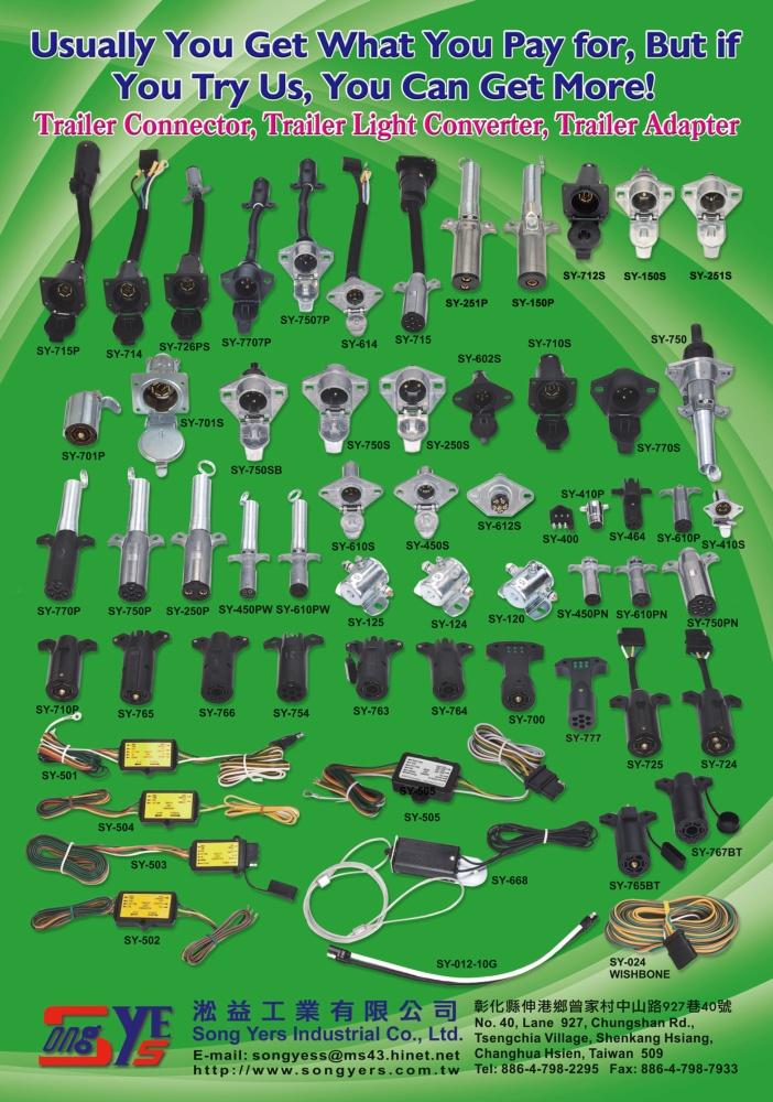 TTG-Taiwan Transportation Equipment Guide SONG YERS INDUSTRIAL CO., LTD.