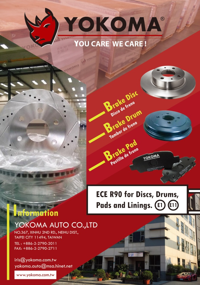 TTG-Taiwan Transportation Equipment Guide YOKOMA AUTO CO., LTD.