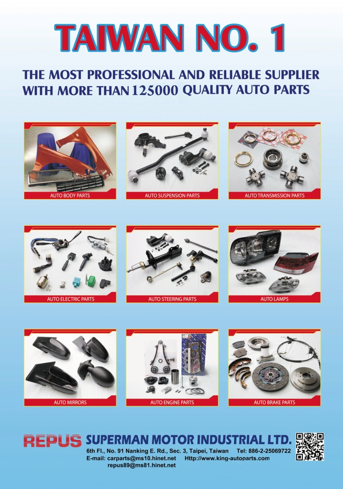 TTG-Taiwan Transportation Equipment Guide SUPERMAN MOTOR INDUSTRIAL LTD.