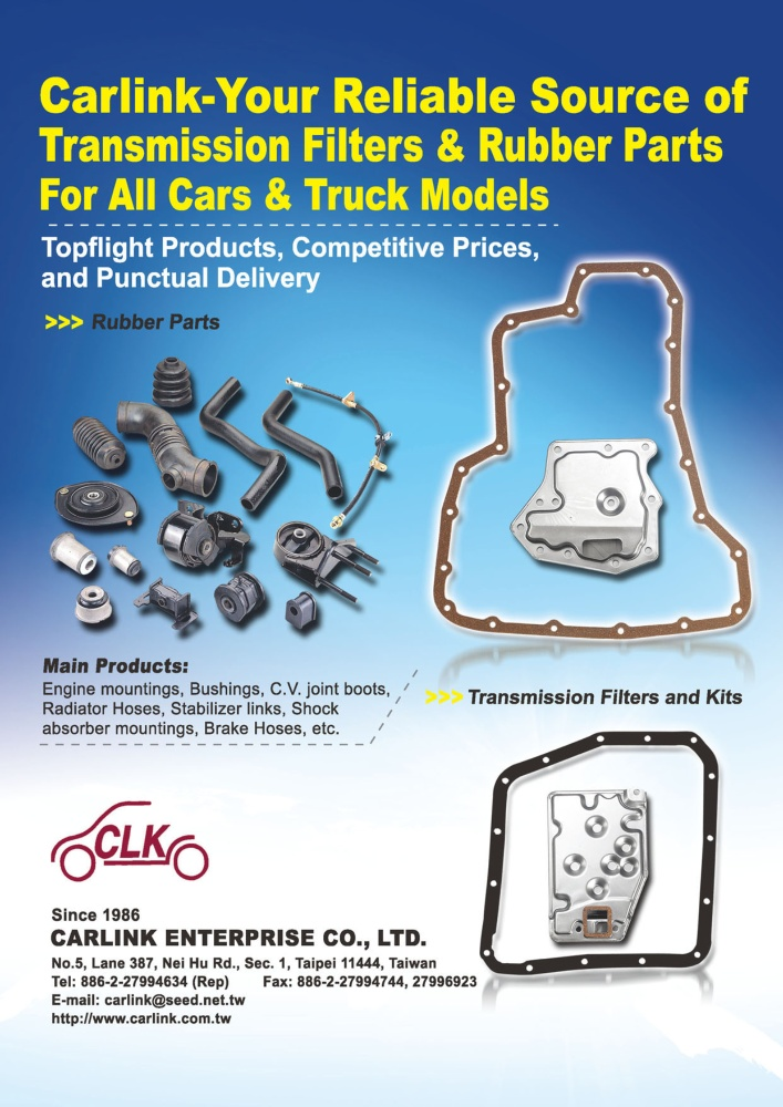 TTG-Taiwan Transportation Equipment Guide CARLINK ENTERPRISE CO., LTD.