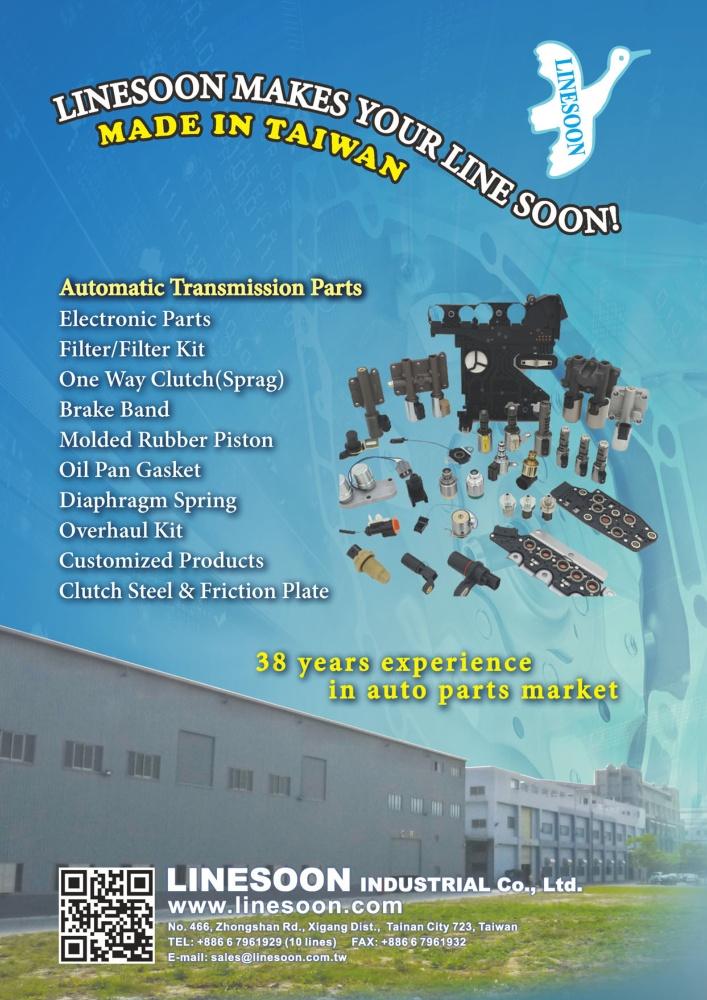 TTG-Taiwan Transportation Equipment Guide LINESOON INDUSTRIAL CO., LTD.