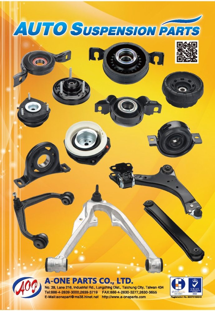 TTG-Taiwan Transportation Equipment Guide A-ONE PARTS CO., LTD.