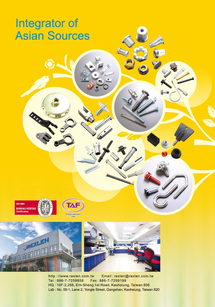 TTG-Taiwan Transportation Equipment Guide REXLEN CORPORATION