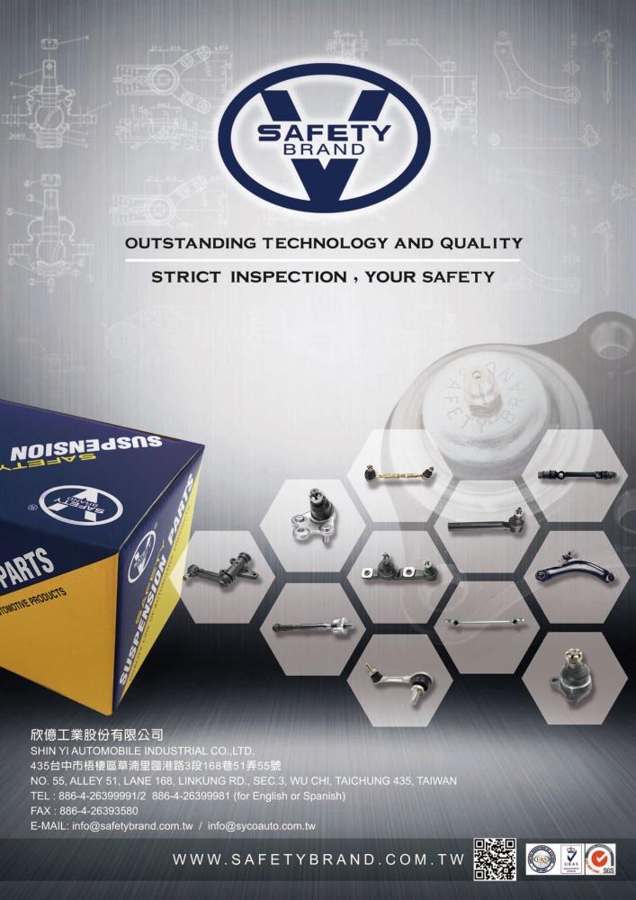 TTG-Taiwan Transportation Equipment Guide SHIN YI AUTOMOBILE INDUSTRIAL CO., LTD.