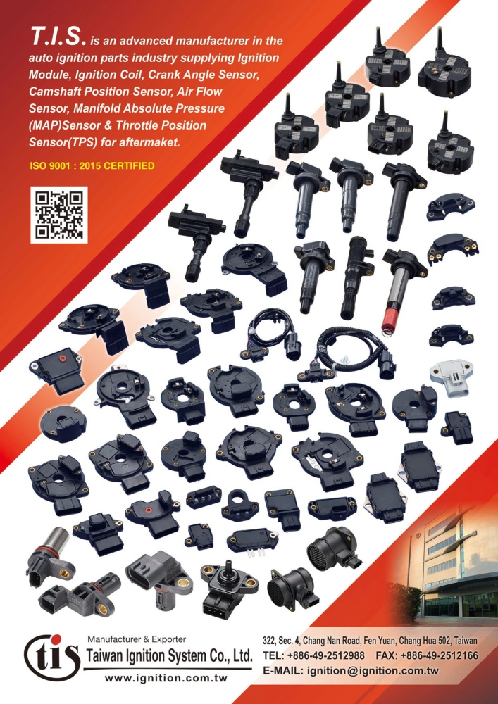 TTG-Taiwan Transportation Equipment Guide TAIWAN IGNITION SYSTEM CO., LTD.