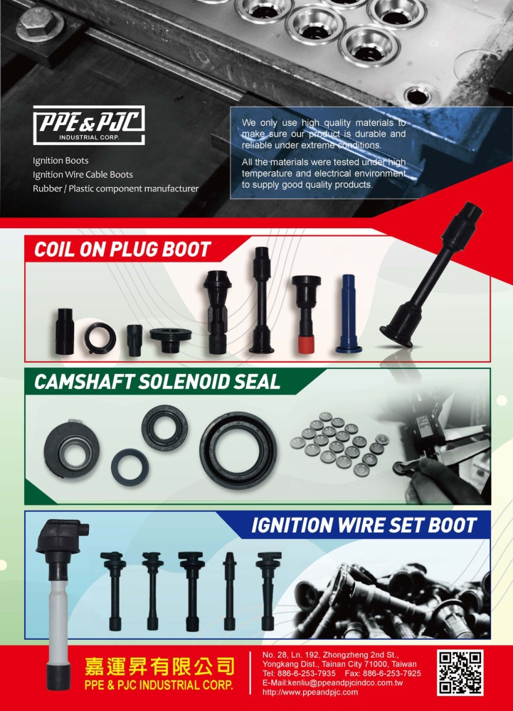 TTG-Taiwan Transportation Equipment Guide PPE & PJC INDUSTRIAL CORP.