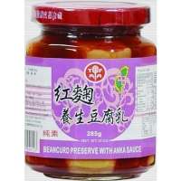 角瓶红麴养生豆腐乳