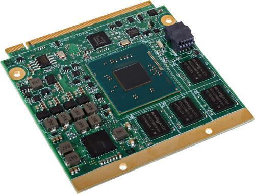 Intel Atom E3800 Processor-based Qseven Module