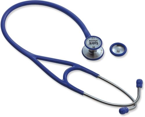 顶级大师心脏科豪华不锈钢双面听诊器