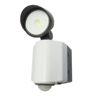 Motion sensor LED floodlight