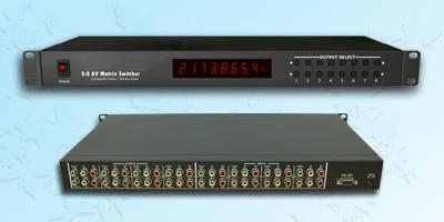 8x8AV影音矩阵切换器(1U)