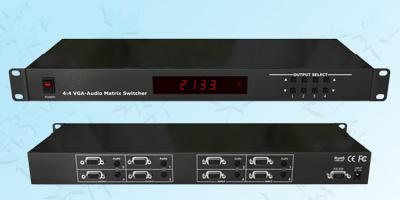 4x4VGA立体声矩阵切换器(1U)