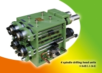 Drilling spindle head units