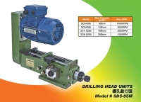 Drilling spindle head unit