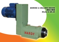 Milling spindle head unit