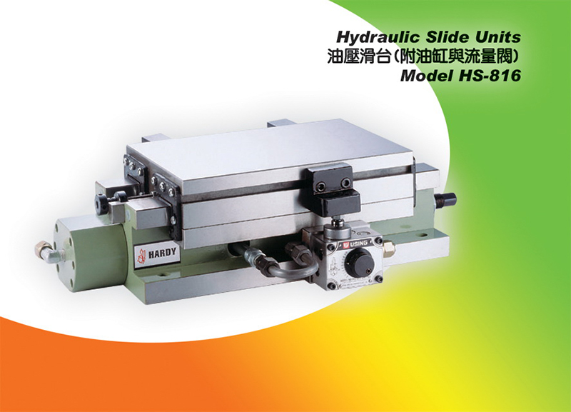 hydraulic slide table