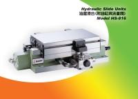 hydraulic slide table