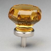 Glass Octagon Knob