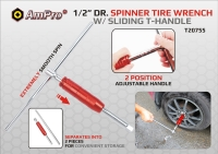 Cens.com 1/2 DR. SPINNER TIRE WRENCH 飞雷企业股份有限公司