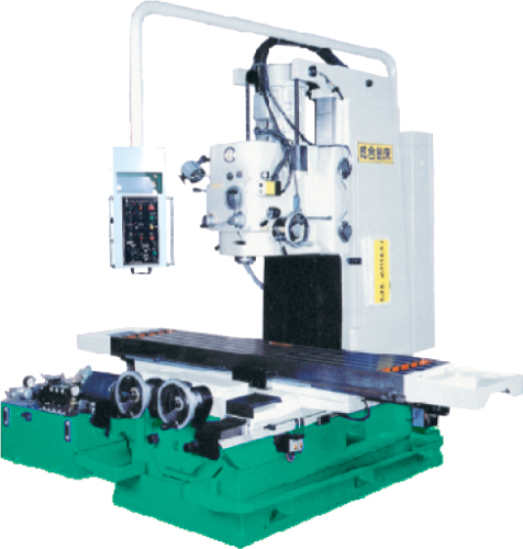 BED-TYPE VERTICAL MILLING MACHINE