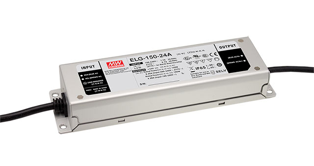 ELGT-150-C 105~150W Class II Constant Current Output LED Driver with PFC