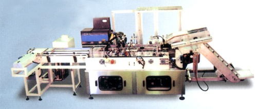 横式装盒机