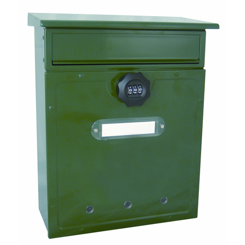 Combination Letter Box