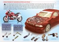 汽机车启动马达碳刷