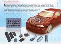 汽車電裝部品馬達碳刷