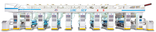 Computerized Auto Rotogravure Printing Press (Electronic Line Shaft system)