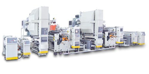 Tandem Extrusion Coating Laminating Machine
