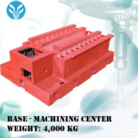 CASTING--BASE OF MACHINE CENTER