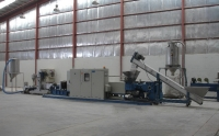 PP, PE film Extrusion-pelletizing system