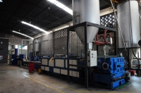 PET Recycle extrusion-pelletizing system
