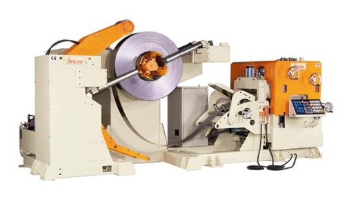 NC Servo Roll Feeder、Straightener & Uncoiler 3in1 Compact Line