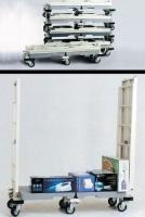Folding Utility Cart with Six Wheels