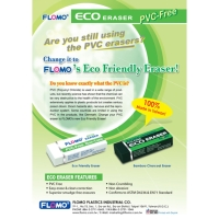 Cens.com Eco Friendly Eraser FLOMO PLASTICS INDUSTRIAL CO., LTD.