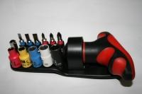 13PCS Ratchet Screwdriver Bit & Socket Set