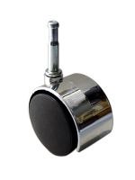 50mm Furniture Caster (Electroplated Hood)